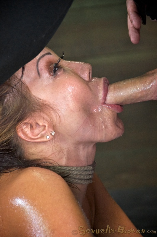 Perfect Asian MILF impaled by two masters